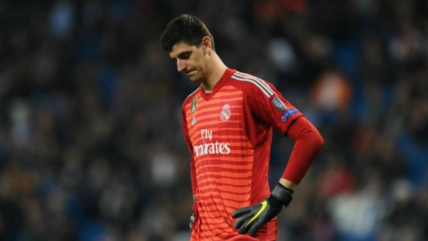 Courtois se suma la plaga de lesiones en el Real Madrid