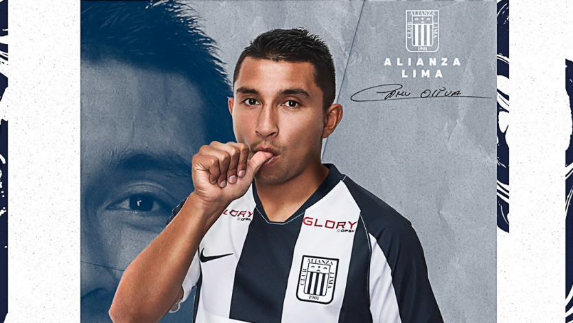 Alianza Lima anunció el fichaje de Edhu Oliva