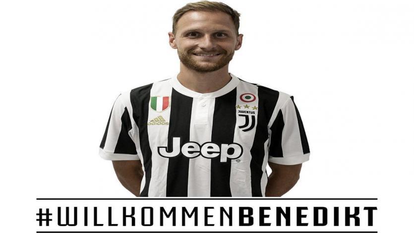 Juventus presenta a Benedikt Höwedes