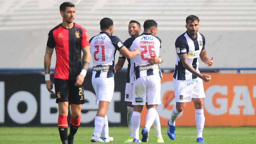 Alianza Lima clasificó a la Copa Libertadores 2022