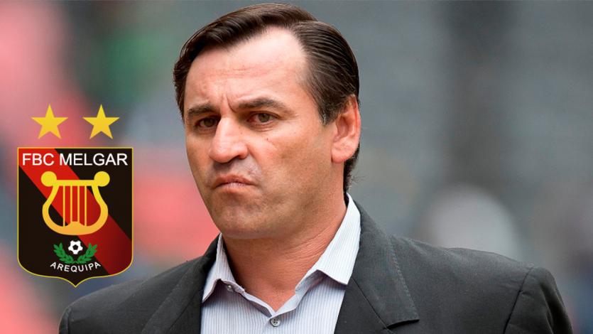 Oficial: Carlos Bustos es nuevo técnico de Melgar