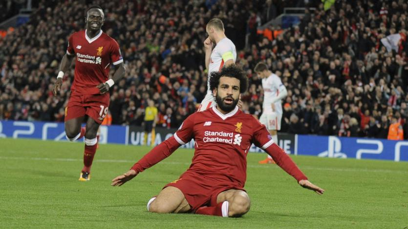 Mohamed Salah iguala récord con el Liverpool