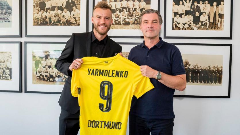 Andrey Yarmolenko es nuevo jugador del Borussia Dortmund