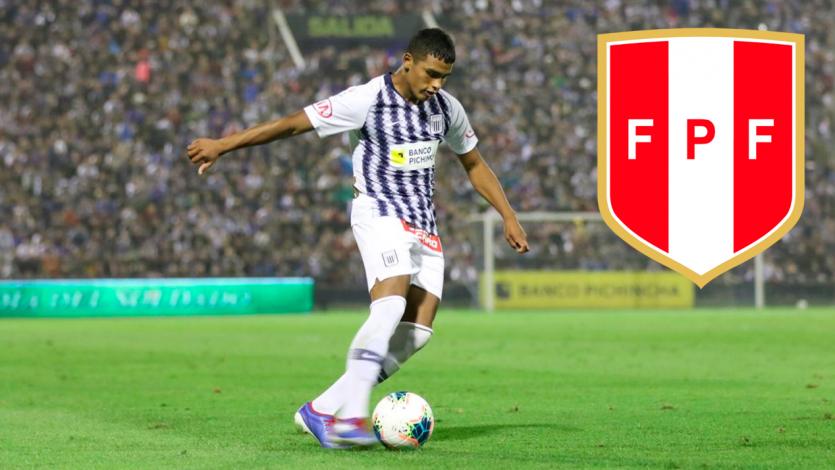 Kluiverth Aguilar fue convocado de emergencia a la Selección Peruana Sub 23