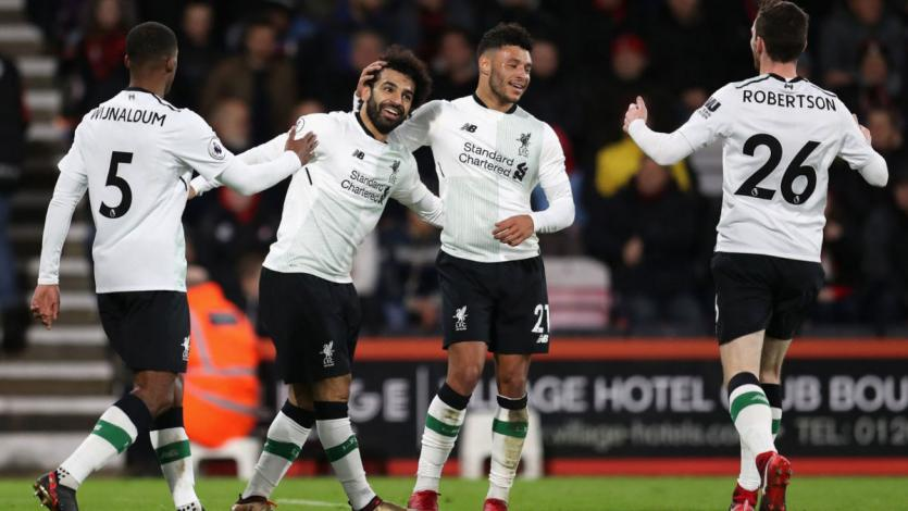 Liverpool aplastó al Bournemouth