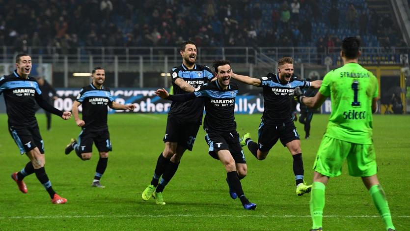 Copa Italia: Lazio elimina al Inter por penales y se mete en la semifinal