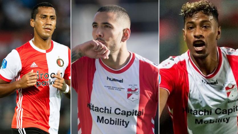 La Eredivisie se dio por terminada y los peruanos en esa liga se quedaron sin acción