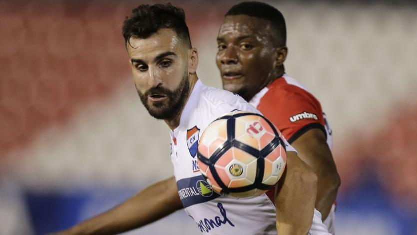 Nacional venció a Estudiantes en la Copa Conmebol Sudamericana