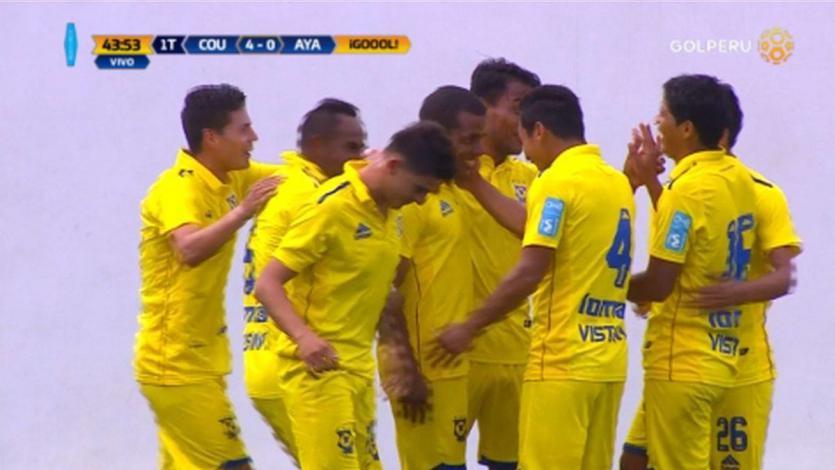 Comerciantes Unidos vapuleó a Ayacucho FC por 4-0