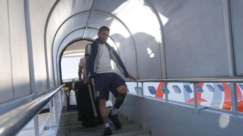 Copa América Brasil 2019: Argentina llegó a Belo Horizonte para enfrentar a Brasil