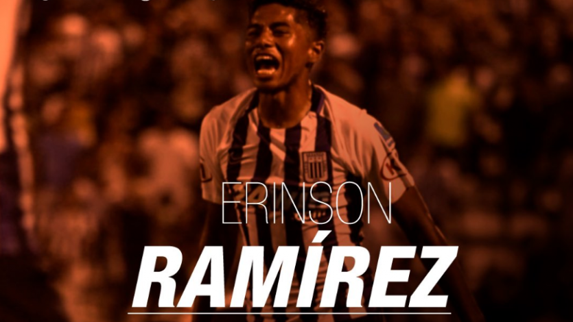 César Vallejo hizo oficial el fichaje de Erinson Ramírez