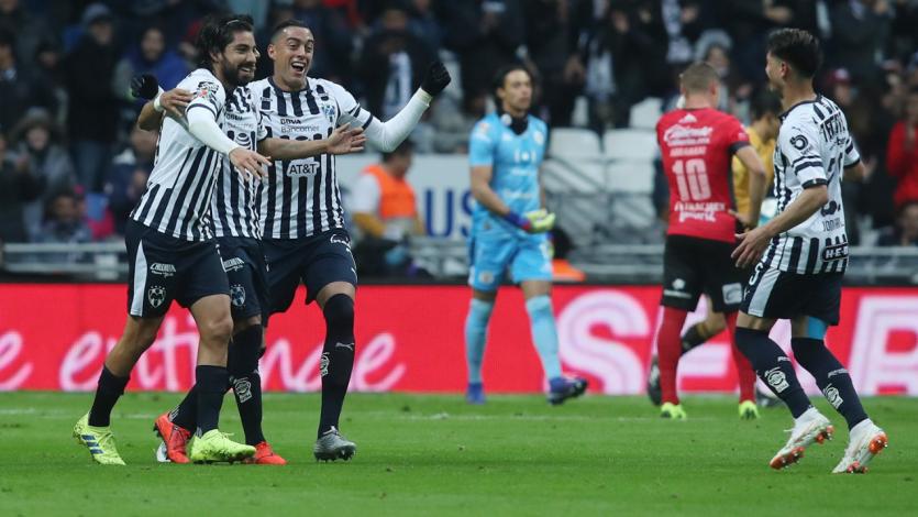 Lobos BUAP cayó goleado 4-0 en su visita a Monterrey