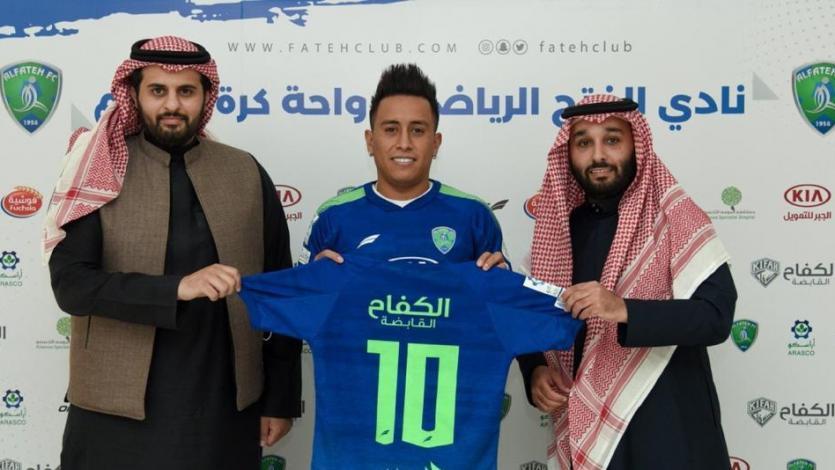 Christian Cueva fue anunciado como nuevo jugador del Al-Fateh de Arabia Saudita