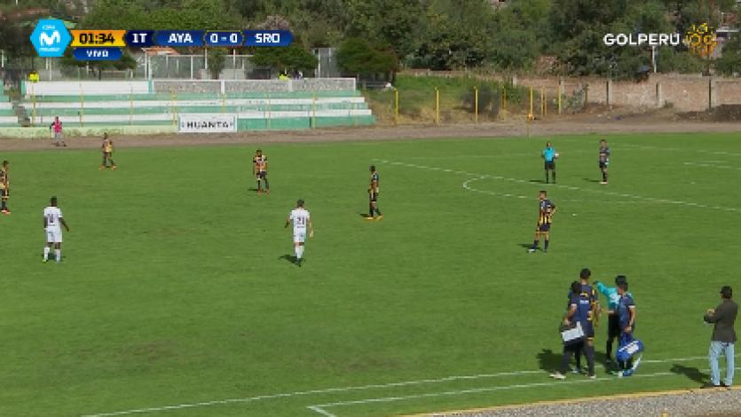 Ayacucho FC  venció 2-0 Sport Rosario y sumó su primera victoria