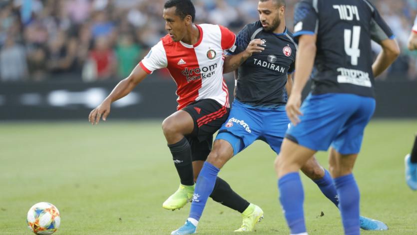 Europa League: el Feyenoord con Renato Tapia cayó por 1-0 ante el Glasgow Rangers