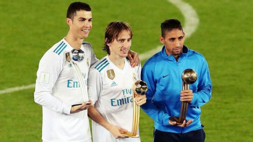Mundial de Clubes: Luka Modric encabeza el podio