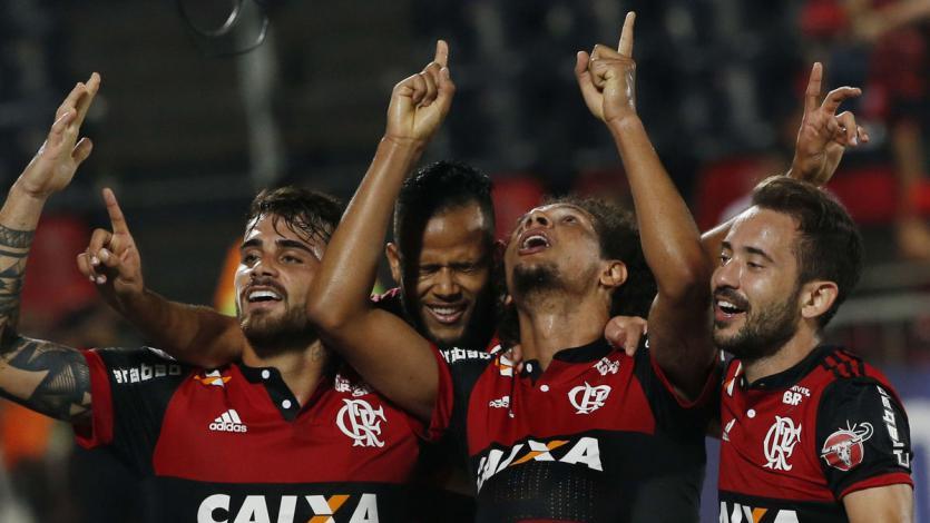 Sin los peruanos, Flamengo vapuleó a Palestino en la Copa Sudamericana (5-0)