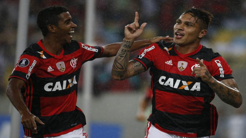 Paolo Guerrero vuelve a la acción en el Brasileirao