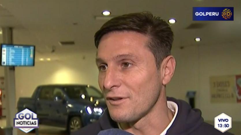 "Javier Zanetti: ""No fue un buen Mundial para Argentina"
