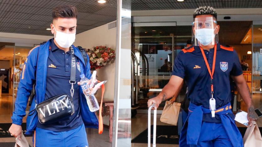 Copa Libertadores: César Vallejo salió rumbo al aeropuerto para volar a Venezuela (VIDEO)