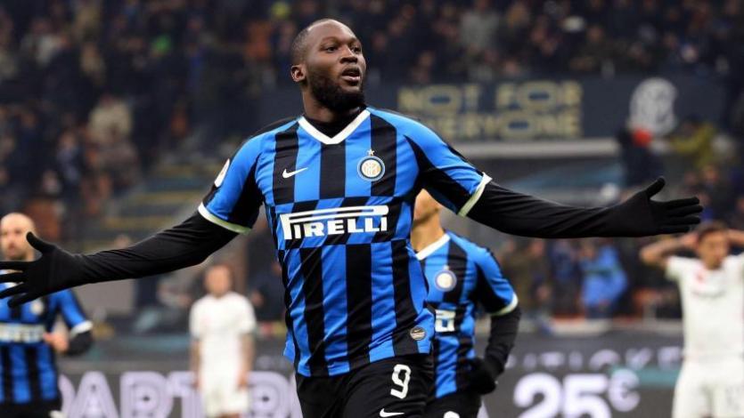 Romelu Lukaku va por el record de Ronaldo Nazario en el Inter