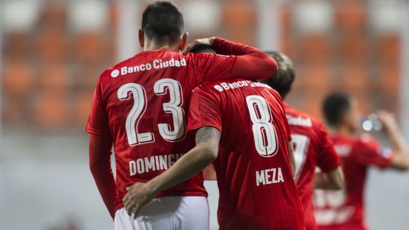 Independiente clasificó en el último partido de Emiliano Rigoni