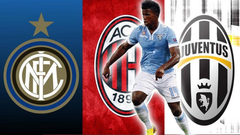 Juventus, Inter y AC Milan se pelean a Keita Baldé