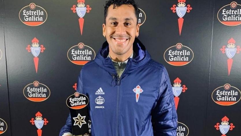 Renato Tapia fue elegido como el mejor jugador del mes de enero en el Celta