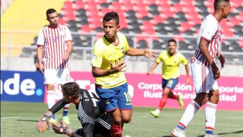 Sudamericano Sub 20: Ecuador golea a Paraguay por 3 -0 en el debut