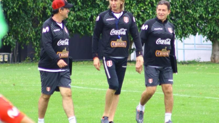 Selección Peruana entrenó por cuarto día consecutivo