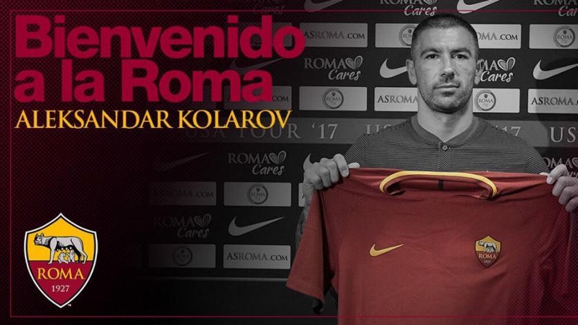 FICHAJES: Aleksandar Kolarov es nuevo jugador de la Roma por 5 M€