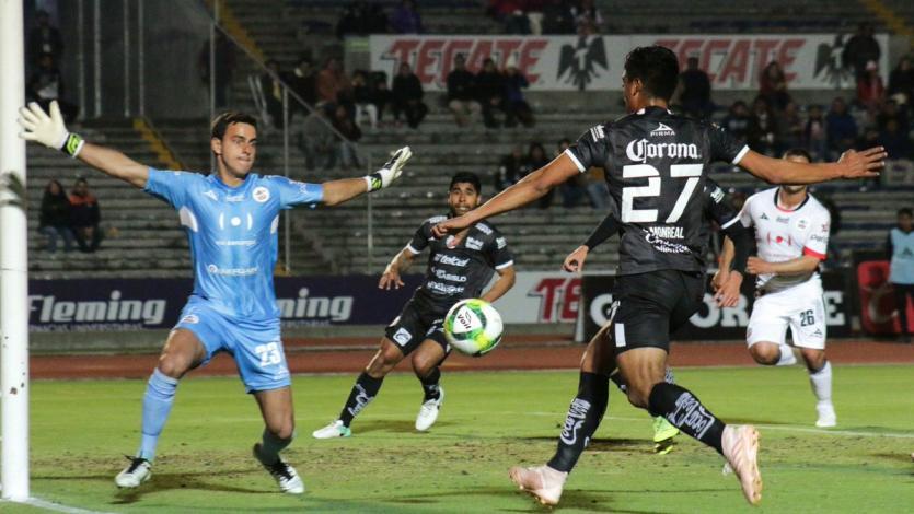 Alejandro Duarte se mostró contento por su debut con Lobos BUAP