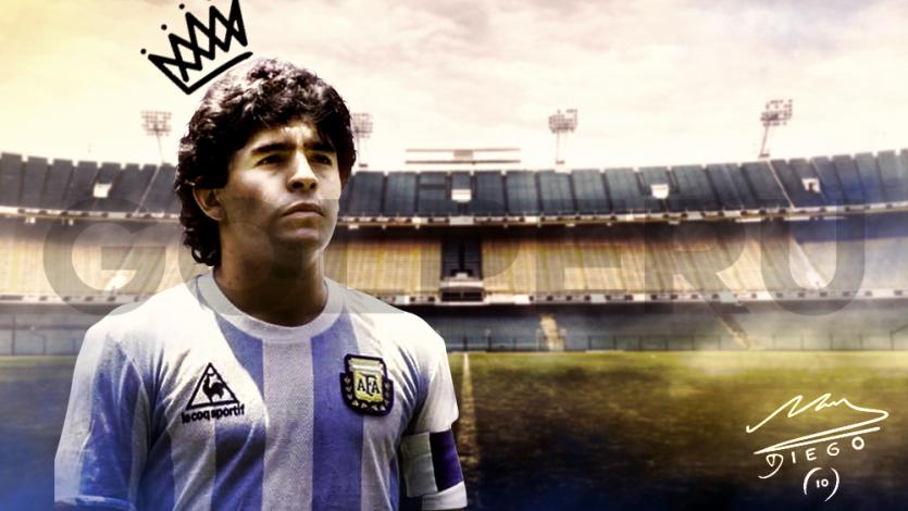 Diego Maradona, el eterno 10 del fútbol