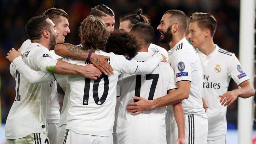 Real Madrid se impone ante la Roma por 2-0 en el Olímpico
