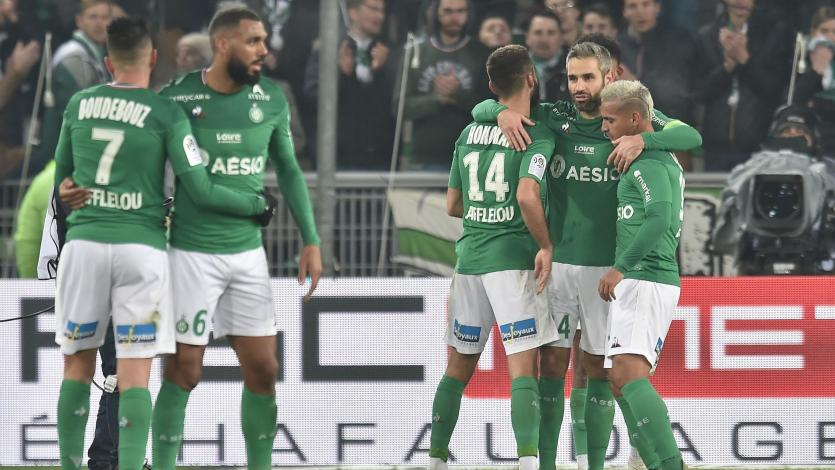 Miguel Trauco y el Saint Étienne golearon al Niza por la fecha 16 de la Ligue 1 (VIDEO)