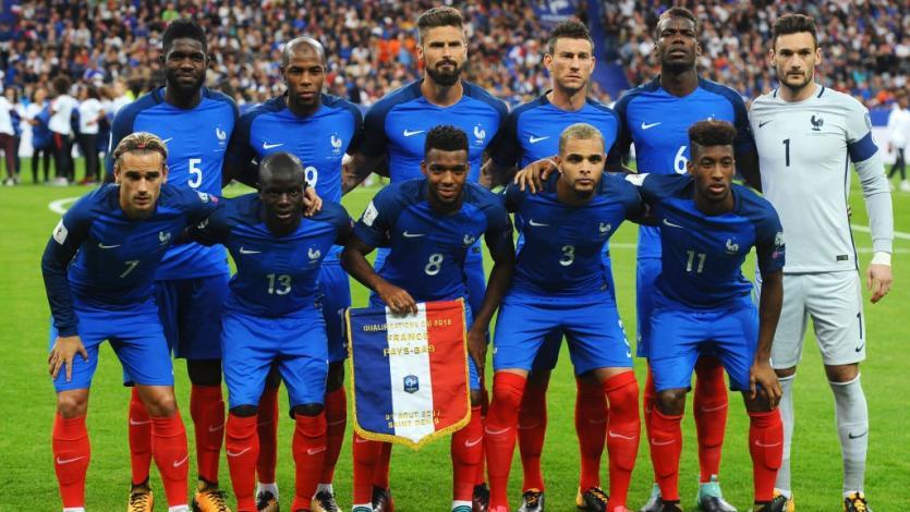 Francia presentó lista de convocados para partidos amistosos