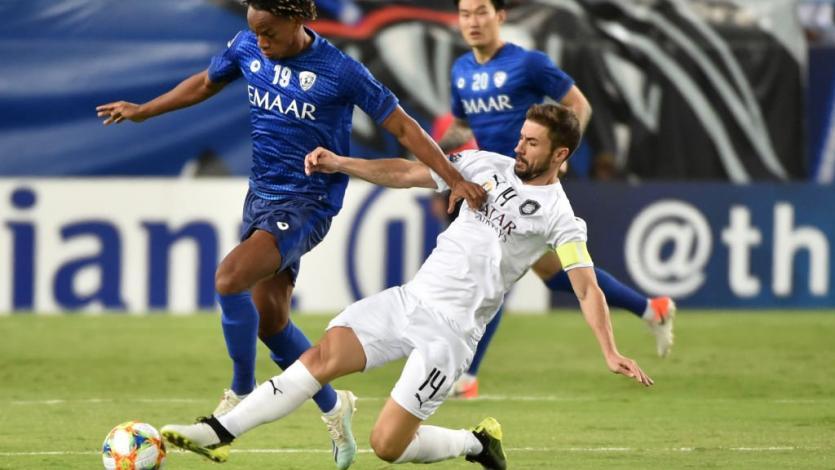 Con André Carrillo, Al-Hilal fue sorprendido y cayó como local ante Al Nasr