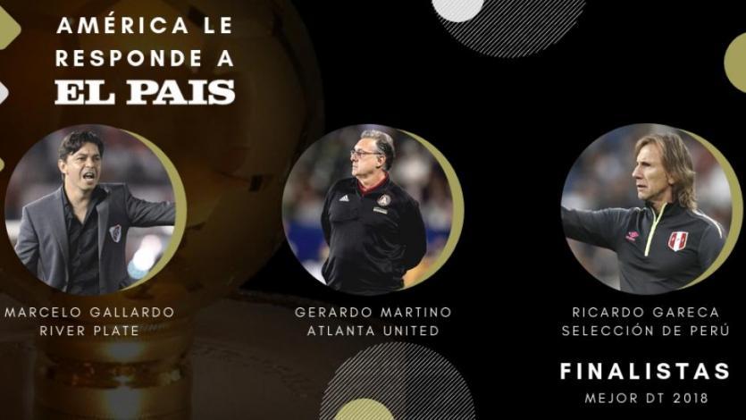 Ricardo Gareca entre los tres mejores entrenadores de Sudamérica
