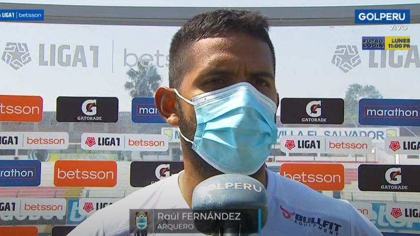 """Raúl Fernández: """"En la circunstancias en las que estamos, era importante sumar"""" (VIDEO)"""
