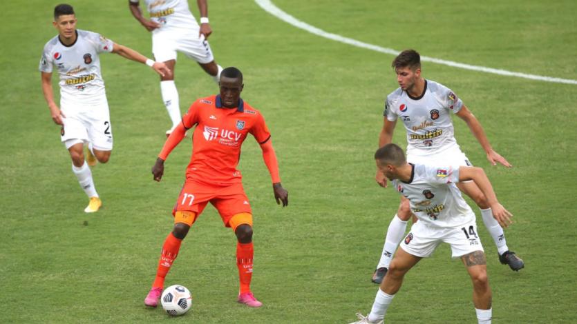 Copa Libertadores: César Vallejo igualó sin goles con Caracas FC por el duelo de ida de la Fase 1 (VIDEO)