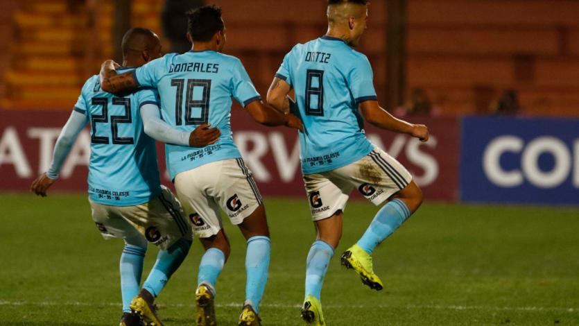 Cristal goleó a Unión Española por la Copa Sudamericana