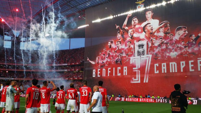 Benfica golea a Santa Clara y se corona como campeón en Portugal