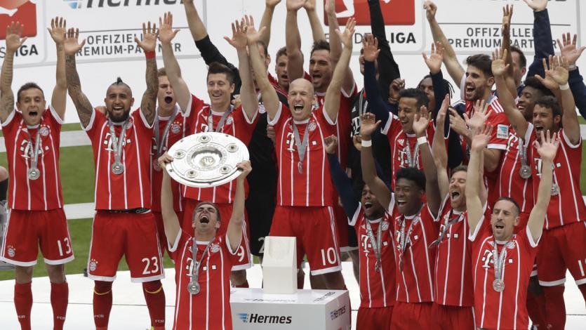 Bayern Munich presenta su camiseta alterna