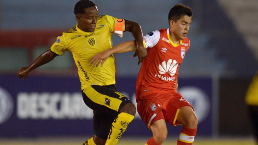 Copa Sudamericana: Fuerza Amarilla y Santa Fe igualaron en Ecuador (1-1)