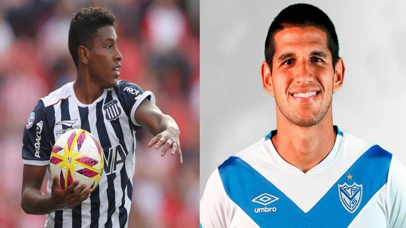 Miguel Araujo con Talleres y Luis Abram con Vélez igualaron en Argentina