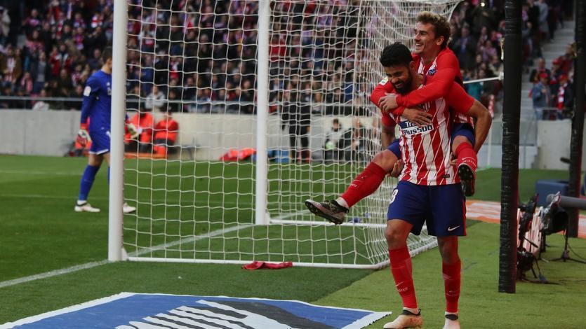 El Atlético de Madrid le sigue los pasos al Barcelona