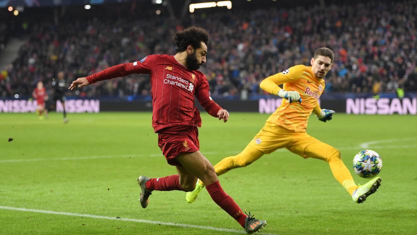 Liverpool superó a Salzburgo y ya está en octavos de final de la Champions League