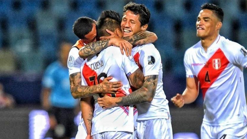 """Selección Peruana: la """"emotiva"""" historia de esta foto tomada tras el pase a semifinales de Copa América"""