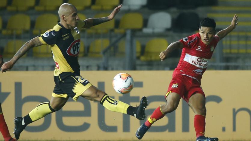 Copa Sudamericana: Sport Huancayo consiguió igualar sin goles ante Coquimbo Unido por el duelo de ida