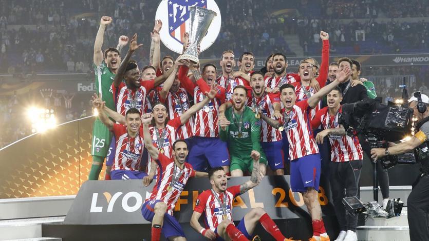 Europa League: ¡Atlético de Madrid se coronó campeón!